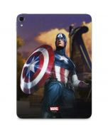 Captain America Saves the Day Apple iPad Pro Skin