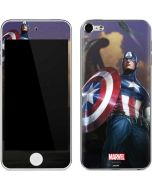 Captain America Saves the Day Apple iPod Skin
