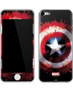 Captain America Shield Apple iPod Skin