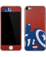 Captain America Silhouette Apple iPod Skin