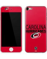 Carolina Hurricanes Lineup Apple iPod Skin