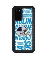 Carolina Panthers - Blast Galaxy S20 Waterproof Case