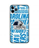 Carolina Panthers - Blast iPhone 11 Pro Max Skin
