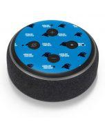 Carolina Panthers Blitz Series Amazon Echo Dot Skin