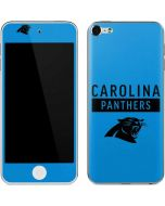 Carolina Panthers Blue Performance Series Apple iPod Skin
