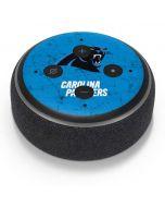 Carolina Panthers Distressed Alternate Amazon Echo Dot Skin