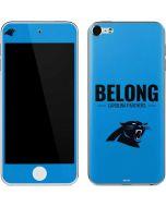 Carolina Panthers Team Motto Apple iPod Skin