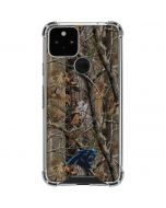 Carolina Panthers Realtree AP Camo Google Pixel 5 Clear Case