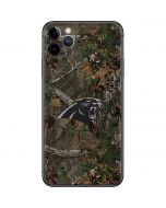 Carolina Panthers Realtree Xtra Green Camo iPhone 11 Pro Max Skin