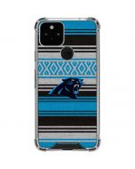 Carolina Panthers Trailblazer Google Pixel 5 Clear Case