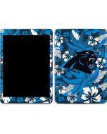 Carolina Panthers Tropical Print Apple iPad Skin