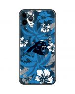Carolina Panthers Tropical Print iPhone 11 Pro Max Skin