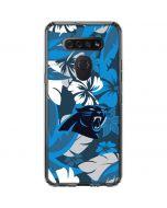 Carolina Panthers Tropical Print LG K51/Q51 Clear Case