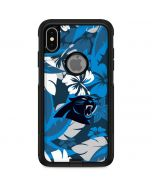 Carolina Panthers Tropical Print Otterbox Commuter iPhone Skin