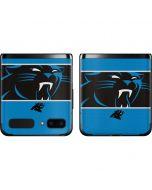 Carolina Panthers Zone Block Galaxy Z Flip Skin