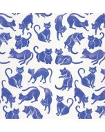 Blue Cats Wii Remote Controller Skin