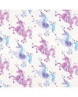 Purple Unicorns Wii U (Console + 1 Controller) Skin