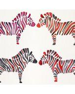 Rainbow Zebras Wii Remote Controller Skin