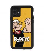 Popeye Flexing iPhone 11 Waterproof Case