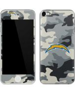 Los Angeles Chargers Camo Apple iPod Skin