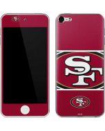 San Francisco 49ers Zone Block Apple iPod Skin