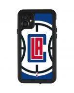 LA Clippers Large Logo iPhone 11 Waterproof Case
