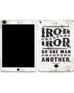 Iron Sharpens Iron Apple iPad Air Skin