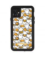 Gudetama Blast Pattern iPhone 11 Waterproof Case