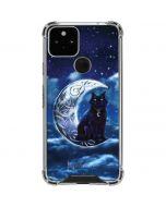 Celtic Black Cat Google Pixel 5 Clear Case