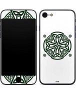 Celtic Cross on White iPhone 8 Skin