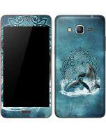 Celtic Dolphin Galaxy Grand Prime Skin