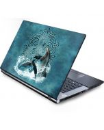 Celtic Dolphin Generic Laptop Skin