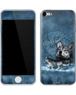 Celtic Wolf Apple iPod Skin