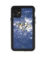 Nashville Predators Frozen iPhone 11 Waterproof Case