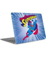 Charging Superman Apple MacBook Air Skin