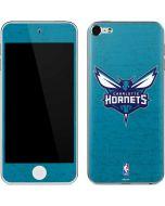 Charlotte Hornets Distressed-Aqua Apple iPod Skin