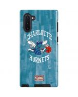 Charlotte Hornets Hardwood Classics Galaxy Note 10 Pro Case