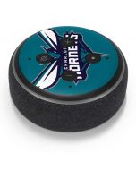 Charlotte Hornets Large Logo Amazon Echo Dot Skin