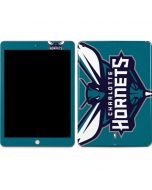 Charlotte Hornets Large Logo Apple iPad Skin