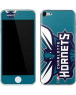 Charlotte Hornets Large Logo Apple iPod Skin