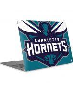 Charlotte Hornets Large Logo Apple MacBook Air Skin