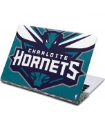 Charlotte Hornets Large Logo Yoga 910 2-in-1 14in Touch-Screen Skin