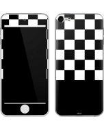 Checkerboard Split Apple iPod Skin