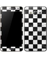 Checkered Marble Galaxy Grand Prime Skin