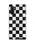 Checkered Marble Galaxy Note 10 Pro Case