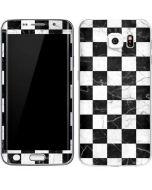 Checkered Marble Galaxy S6 Edge Skin