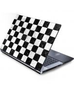 Checkered Marble Generic Laptop Skin
