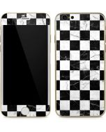 Checkered Marble iPhone 6/6s Skin
