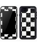Checkered Marble iPhone 8 Waterproof Case