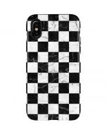 Checkered Marble iPhone X Pro Case